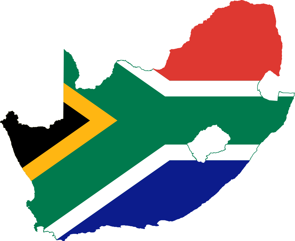 1000px-Flag-map of South Africa
