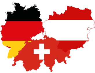 Switzerland, Germany, Austria